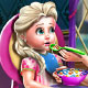 Elsa Toddler Fed