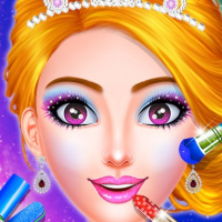 Princess Dress up & Makeover - Color by Number