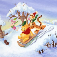 Winnie the Pooh Christmas Jigsaw Puzzle 2
